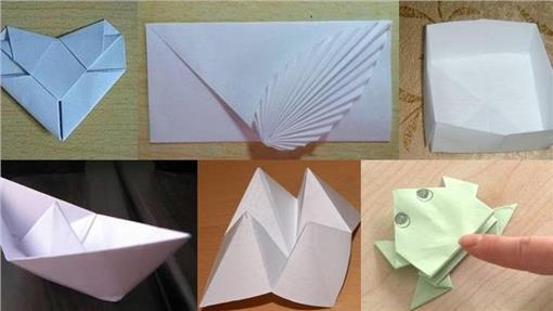 折纸,童年,纸船,青蛙,东西南北
