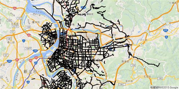 鉛管,江明宗 . 政 . 路過-翻攝自鉛管分佈地圖http://kiang.github.io/lead_pipes/