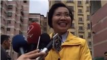 徐欣瑩投票 (圖/翻攝自徐欣瑩臉書)