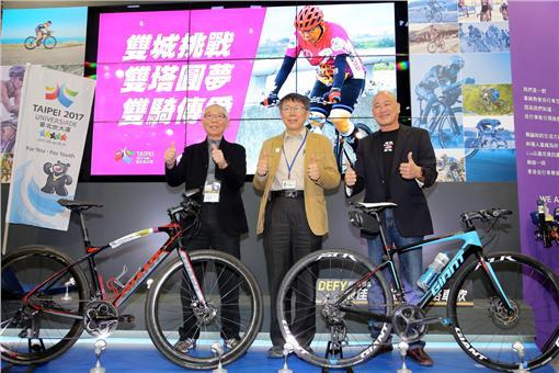 柯文哲,柯P,義賣,車衣,自行車▲圖/台北市政府提供