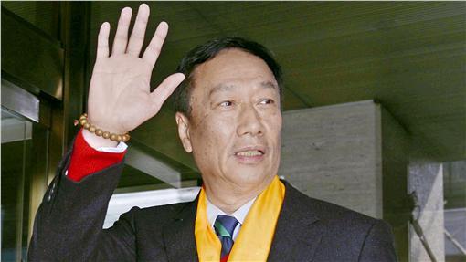 郭台銘,夏普,鴻海圖/路透社/達志影像