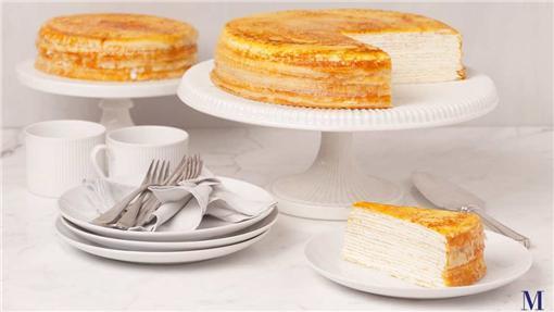 台北晶華酒店與知名紐約甜點名店Lady M合作,4月28至5月8號限時限量推出經典甜點。(圖/翻攝自Lady M官網)