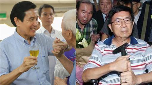 馬英九、陳水扁-組圖/翻攝自馬英九臉書、記者邱榮吉攝影