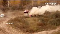 俄賽車驚撞1200