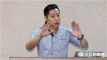時代力量立委林昶佐 圖/記者林敬旻攝影
