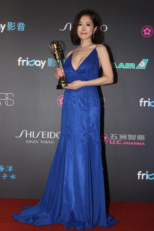 20161008 尹馨獲迷你劇集電視電影女主角獎 新聞中心