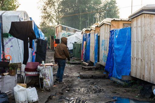 法國城市加萊(Calais)(圖/美聯社/達志影像)