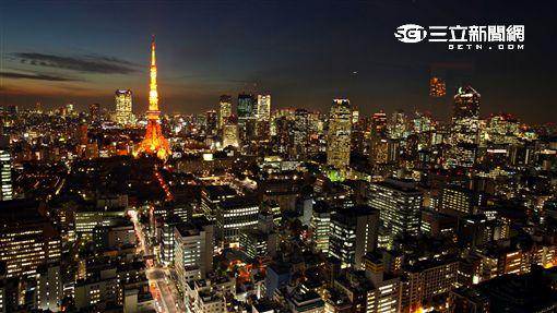 日本旅遊,東京鐵塔,城市。(圖/記者簡佑庭攝)
