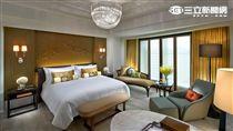 台北文華東方客房,旅展,飯店。(圖/文華東方提供)