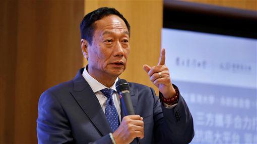 郭台銘,鴻海,工商圖/路透社/達志影像
