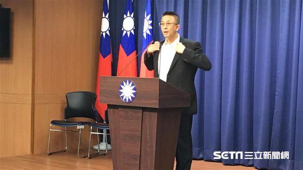 國民黨文傳會副主委胡文琦(圖/記者陳彥宇攝)