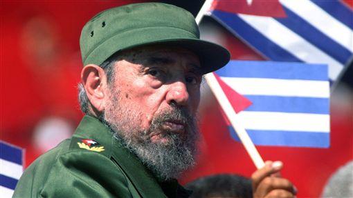 古巴革命領袖斐代爾.卡斯楚(Fidel Castro)_路透