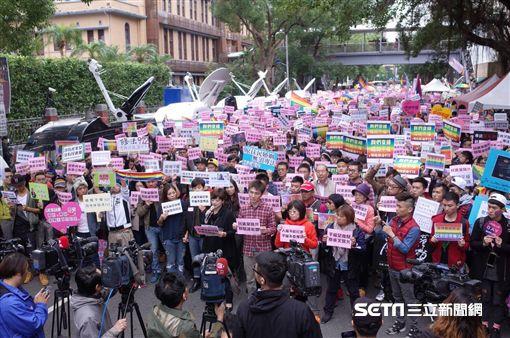 同志,婚姻平權,同性戀,公聽會。記者林敬旻攝影