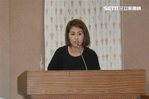 東台灣守護幸福家庭行動聯盟發言人陳慈美 記者林敬旻攝