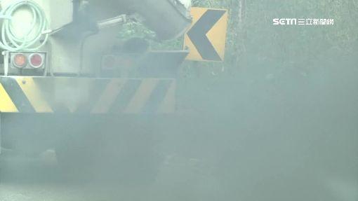 「烏賊車」挺進溪頭 沿途噴黑煙居民怨臭