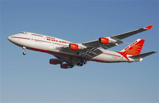 印度航空。(圖/翻攝自網路)
