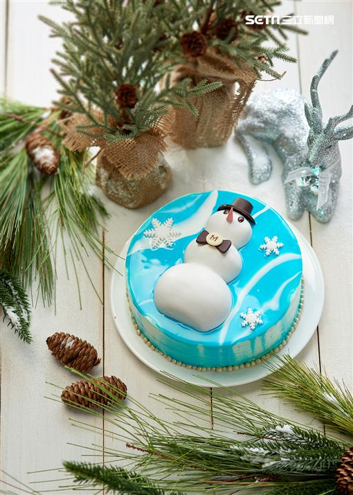 台北美福大飯店聖誕節外帶甜點。(圖/台北美福提供)