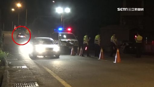 進補旺季酒駕增多 拒酒測衝撞警攔檢站