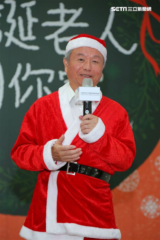 年齡70歲、身懷絕技 台灣也有聖誕老人!(圖/高發會)