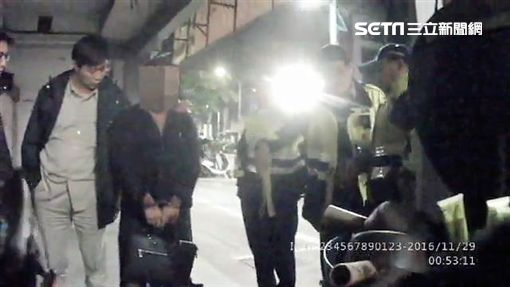 林男酒後持槍至前女友經營的居酒屋砸店毆打客人還嗆聲遭警逮捕(翻攝畫面)