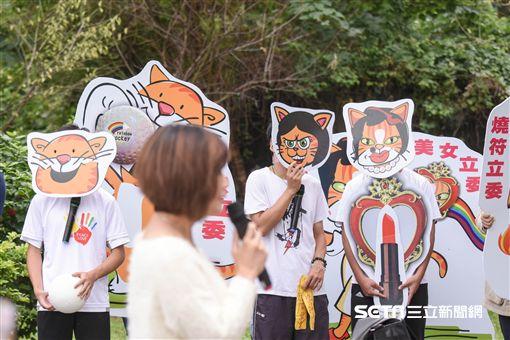 三貓下台,抗議,同志,同性戀,反同 圖/記者林敬旻攝