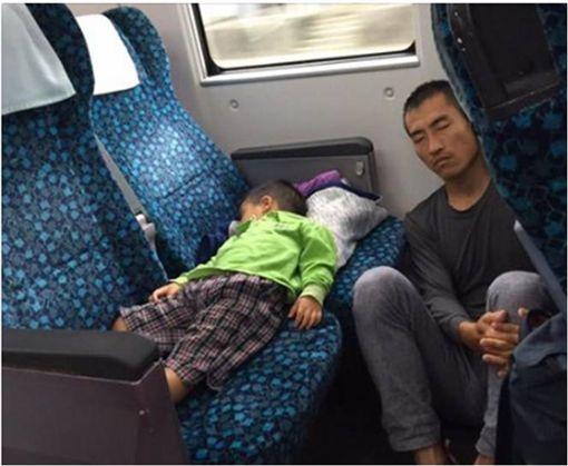 父親,父愛,火車,太魯閣號,座位,陳立 圖/翻攝自陳立臉書