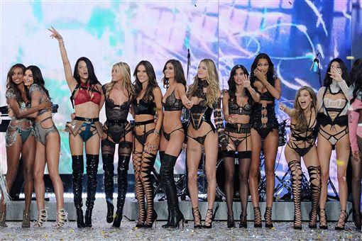 2016-維多利亞的秘密-Victoria Secret-內衣秀-▲圖/美聯社/達志影像