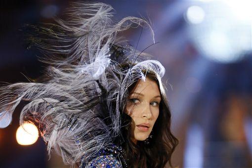 2016-維多利亞的秘密-Victoria Secret-內衣秀-Gigi Hadid-▲圖/美聯社/達志影像