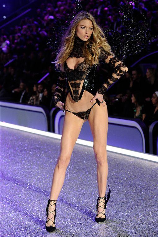 2016-維多利亞的秘密-Victoria Secret-內衣秀-Lily Donaldson-▲圖/美聯社/達志影像