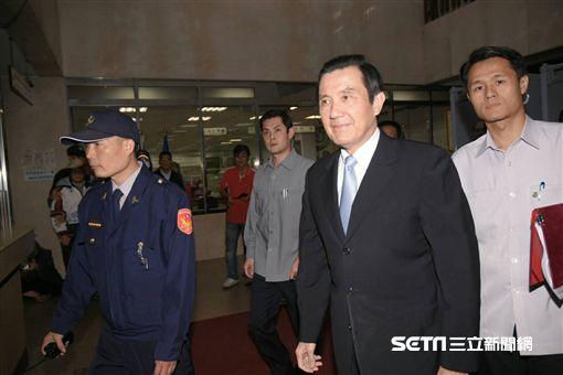 遭控教唆洩密案 馬英九今(1日)出庭應訊(圖/記者林敬旻攝影)