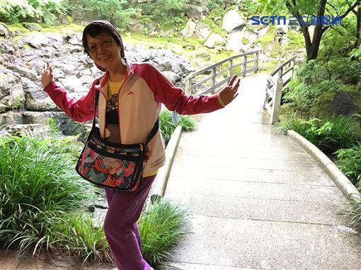 ▲林小姐奮力抗肺癌,幸好有第三代標靶藥物治療,得以延長生命。(圖/林小姐提供)