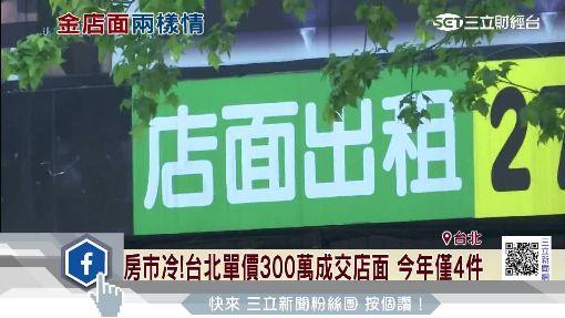 房市冷!台北單價300萬成交店面 今年僅4件