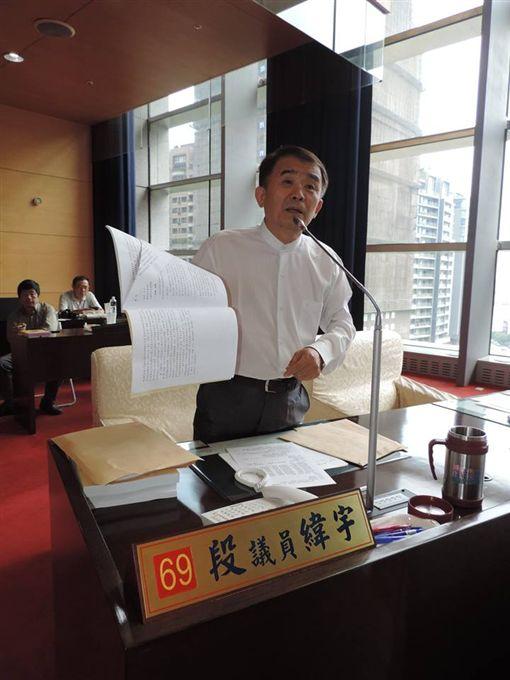 親民黨台中市議員段緯宇(圖/翻攝自段緯宇臉書)