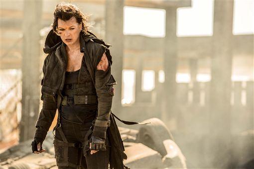 蜜拉喬娃維琪(Milla Jovovich)《惡靈古堡:最終章》 圖/索尼影業提供