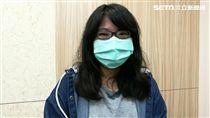 27歲的陳小姐今年2月罹患流感卻以為是感冒,差點延誤病情危及性命。(圖/楊晴雯攝)