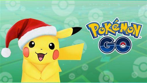 寶可夢,金銀版,皮卡丘,聖誕帽 圖/翻攝自Pokémon GO YouTube 16:9