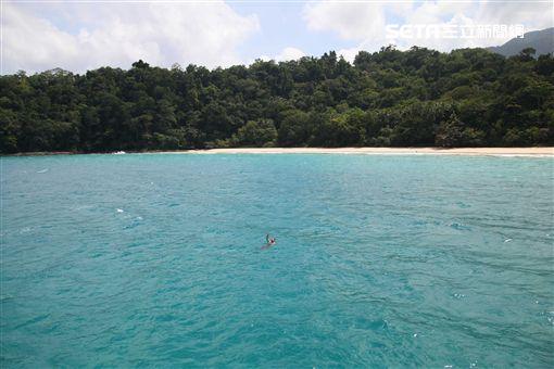 菲律賓巴拉望海上溜索。(圖/記者簡佑庭攝) ID-746565