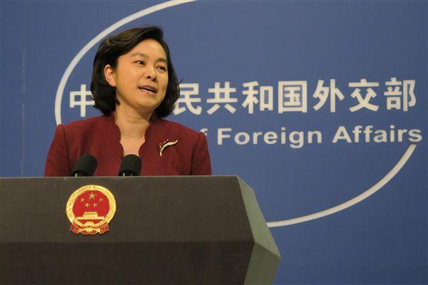 中國外交部發言人華春瑩_中央社