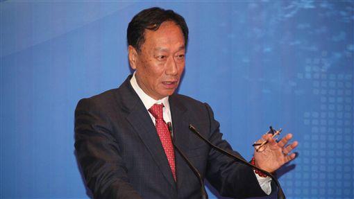 郭台銘,鴻海總裁,郭台銘投資2800億  廣州建面板廠/中央社