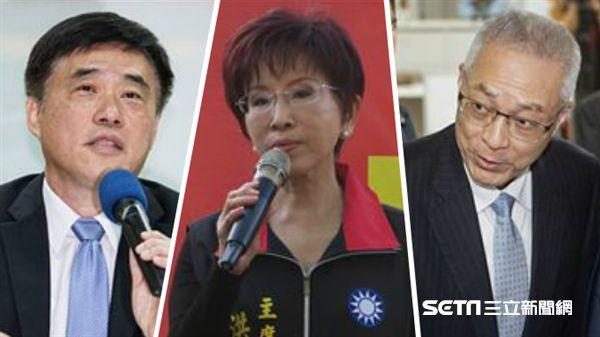 國民黨主席選舉預料是三強鼎立、郝龍斌、吳敦義、洪秀柱/記者林敬旻、盧素梅攝影