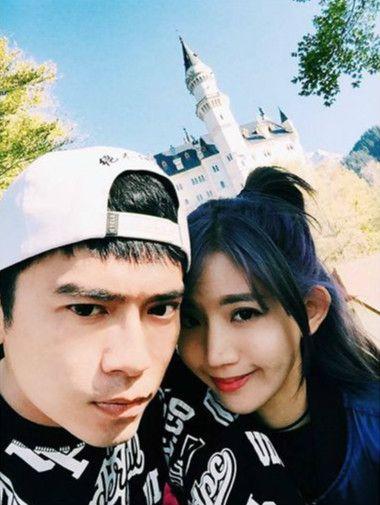 阿翔與陳艾琳。(圖/取自阿翔instagram)