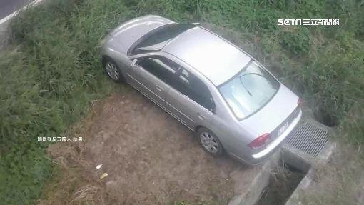 """飛越大水溝?網友傻眼""""停車無極限"""""""