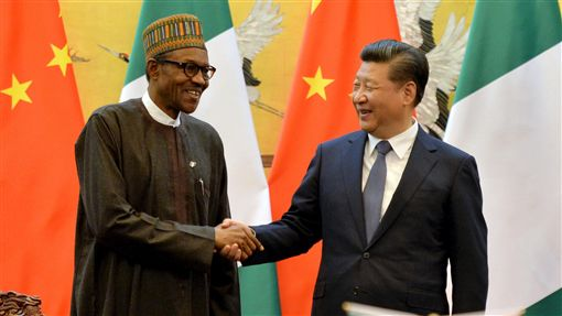 奈及利亞總統、中國大陸國家主席習近平(圖/路透社/達志影像)