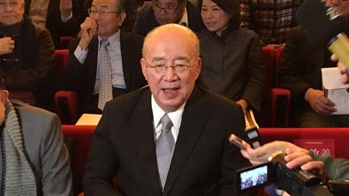 國民黨大老吳伯雄,李建榮新書發表會(圖/記者陳彥宇攝影)