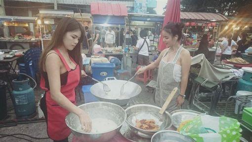 香蕉攤 臉書 老闆娘 泰國