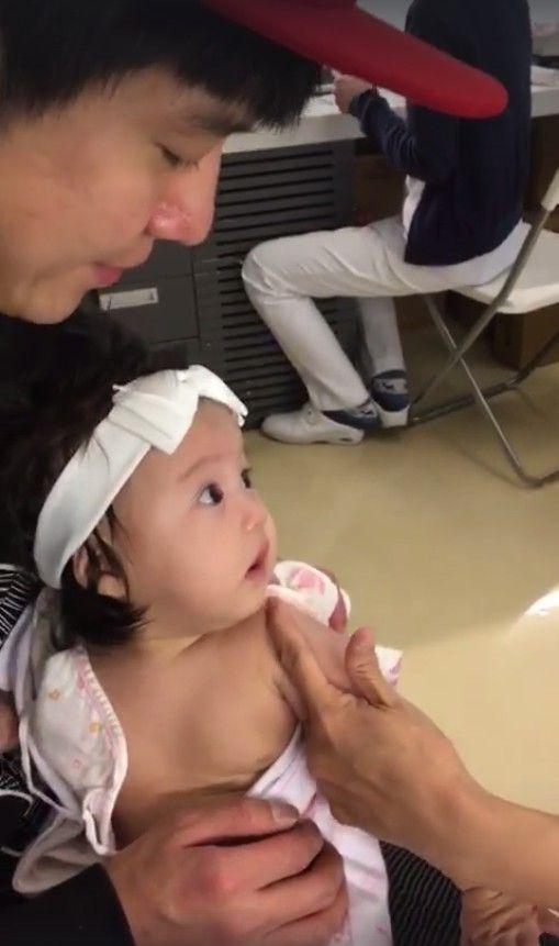 李易,女兒,Shinny(圖/翻攝自六月臉書)