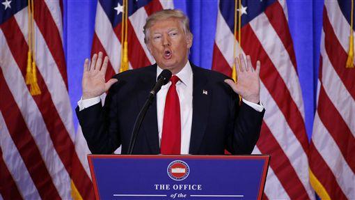 美國總統川普Trump(圖/路透社/達志影像)