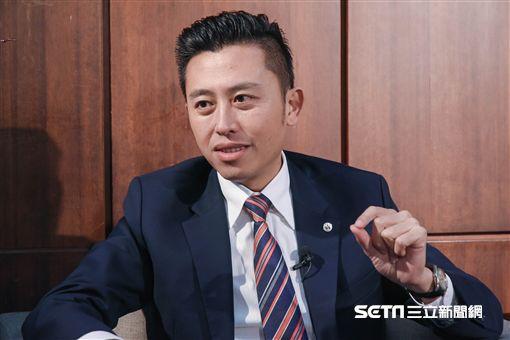新竹市長林智堅接受三立新聞網專訪(勿用) 圖/記者林敬旻攝