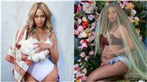 碧昂絲,Beyonce,懷孕,雙胞胎/IG