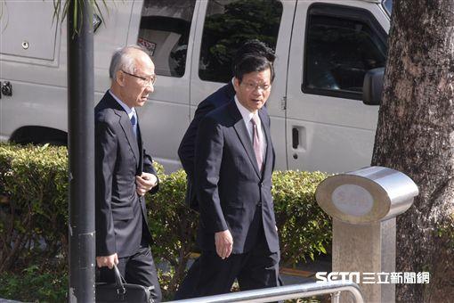 翁啟惠出庭,浩鼎 圖/記者林敬旻攝